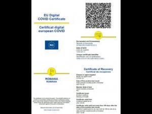 Certificate verzi de vaccinare anti COVID-19 false, un nou tip de înșelăciune