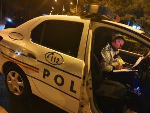 Șofer prins în Sinaia/Avea permisul reținut și era drogat