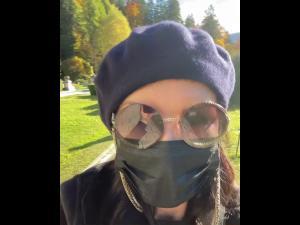 VIDEO Celebra actriță Catherine Zeta-Jones a vizitat Castelul Peleș